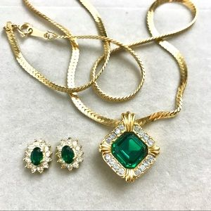 Vintage Avon Necklace & Earring Set